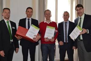 """Landau: Verwaltungsmitarbeiter gewinnen Preise bei """"Mit dem Rad zur Arbeit 2015"""""""