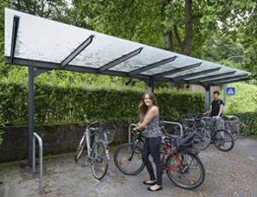 Heidelberg: Neue Fahrradabstellanlage in Schlierbach
